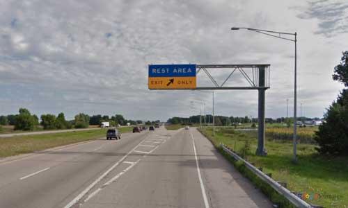 wi interstate 39 wisconsin i39 beloit welcome center mile marker 187 northbound off ramp exit