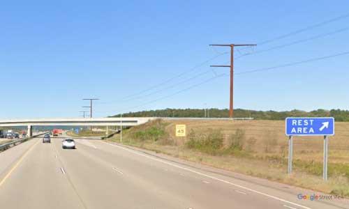 wi interstate 39 wisconsin i39 poynette rest area mile marker 113 northbound off ramp exit