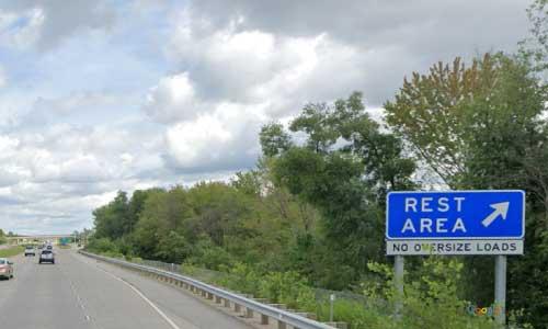 wi interstate 90 wisconsin i90 la crosse welcome center mile marker 1 eastbound off ramp exit