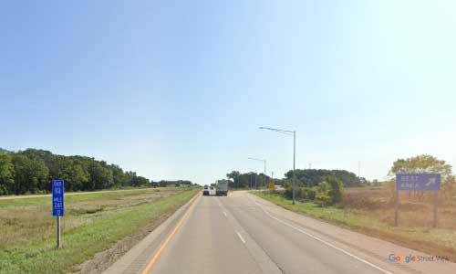 wi interstate 94 wisconsin i94 lake mills rest area mile marker 261 eastbound off ramp exit