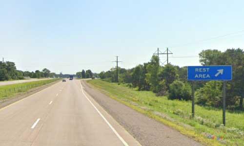 wi interstate 94 wisconsin i94 menomonie welcome center mile marker 43 eastbound off ramp exit
