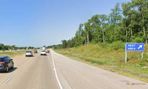 wi interstate 94 wisconsin i94 menomonie welcome center mile marker 43 westbound off ramp exit