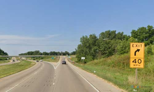 wi us route 61 151 wisconsin us61 us151 kieler rest area northbound off ramp exit